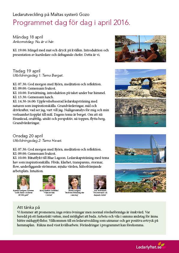 Ledarutveckling på Gozo program