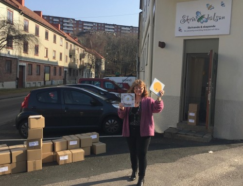Att ge ut en bok – med Skrivandets energi i min hand