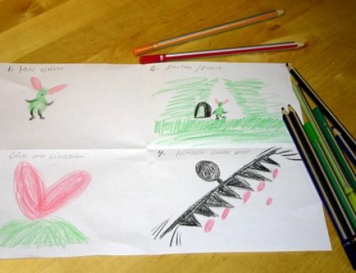 Sagan om dig – måla och skriv från hjärtat