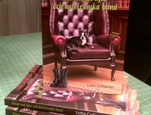 Lotta skrev boken Bland små djur och halvfranska band